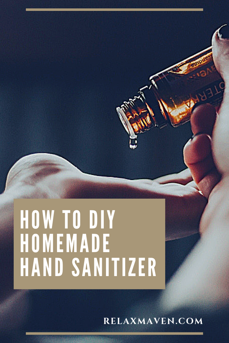How to DIY Homemade Hand Sanitizer