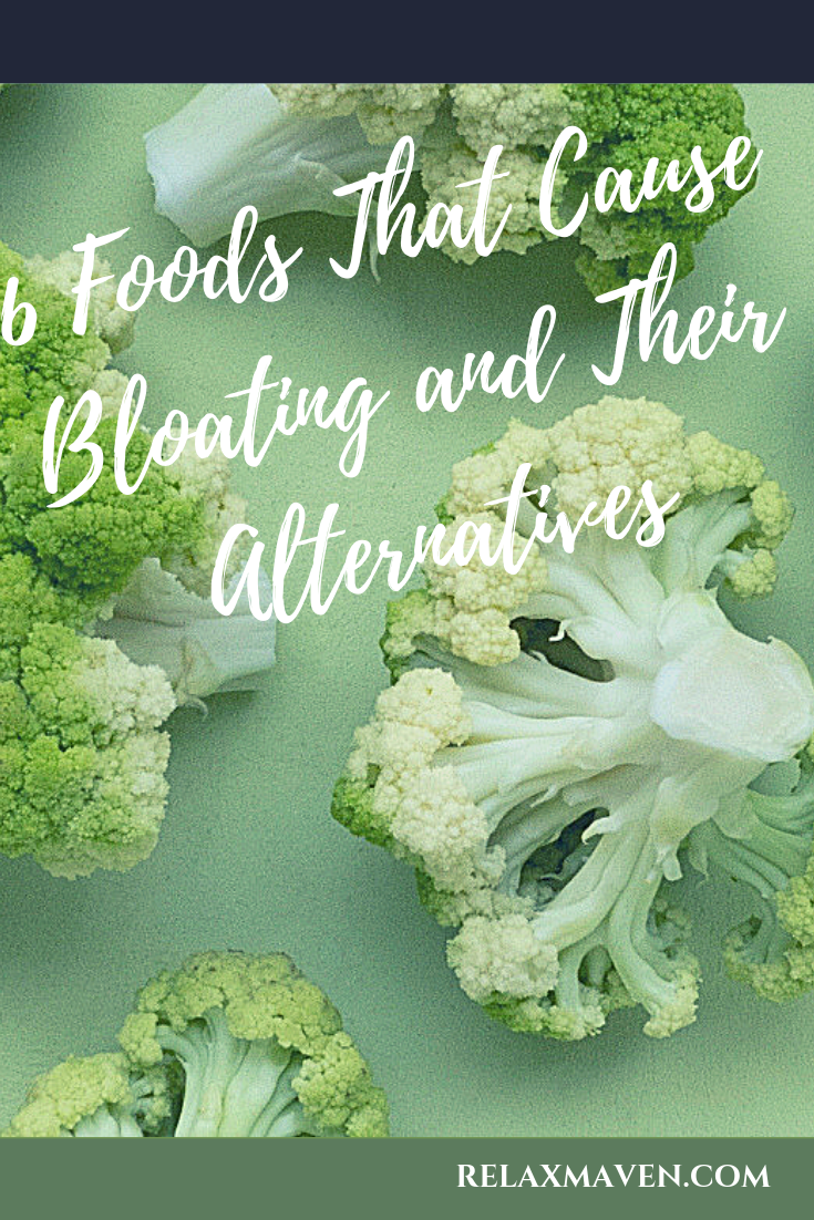 6 Foods That Cause Bloating and Their Alternatives