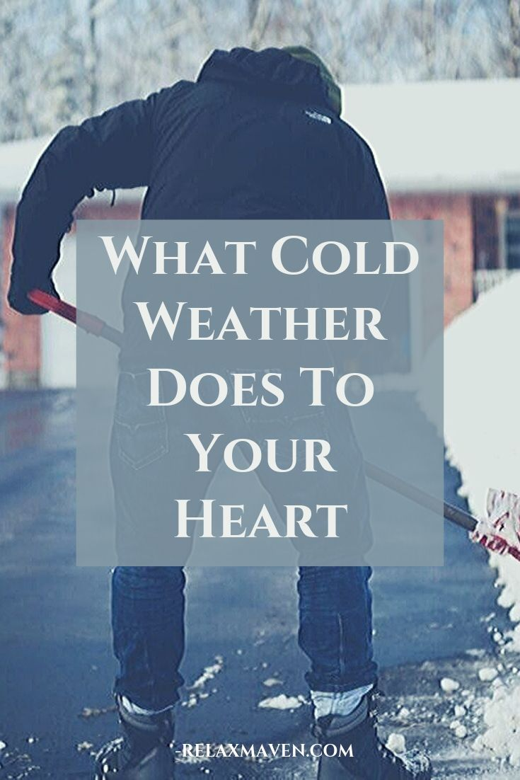 What Cold Weather Does To Your Heart