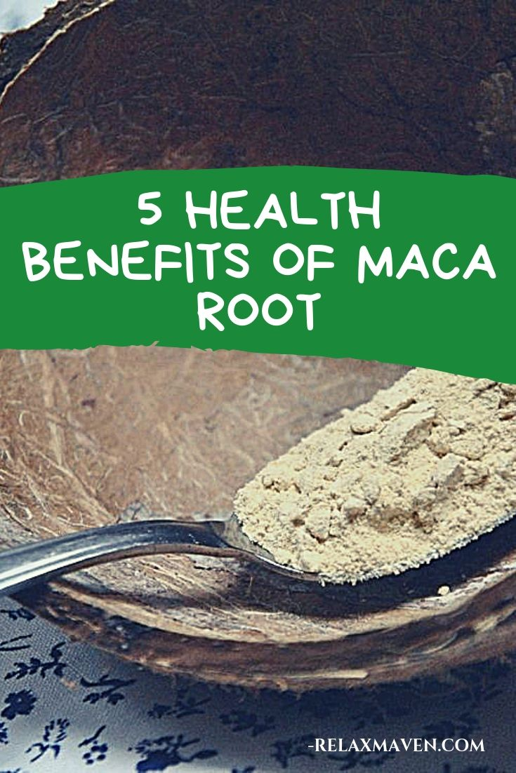 5 Health Benefits of Maca Root